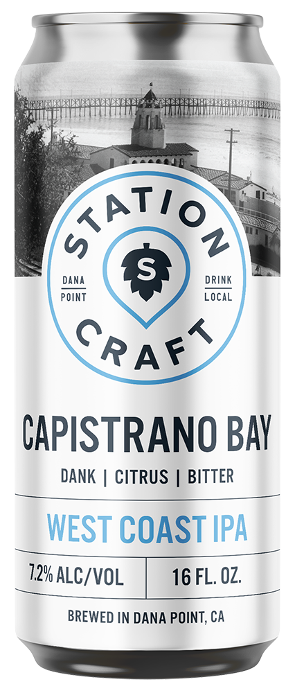 Capistrano Bay - West Coast IPA - Station Craft Brewery
