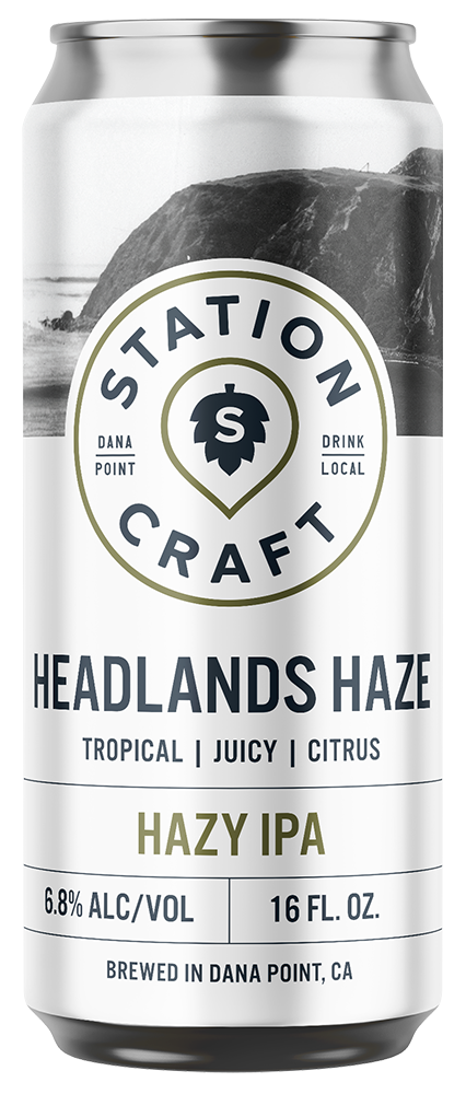 Headland Haze - Hazy IPA - Station Craft Brewery