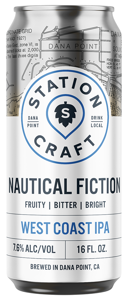 Nautical Fiction - West Coast IPA - Station Craft Brewery