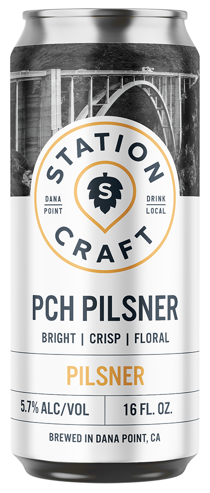 PCH Pilsner - Pilsner - Station Craft Brewery